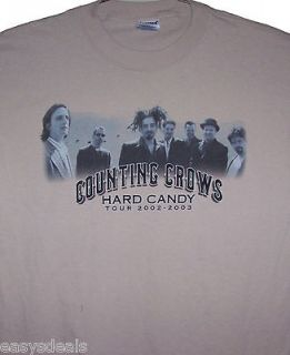 Counting Crows concert shirt Hard Candy Tour 2002 2003 August and