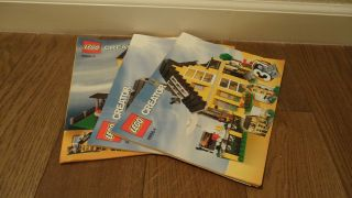 Lego Creator Beach House (4996) Instructions Only