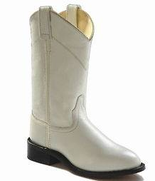 New Ladies Old West White Roper Cowboy Boots