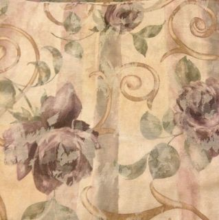 croscill curtains floral