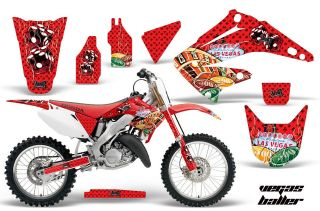 AMR RACING DIRT BIKE MOTORCYCLE GRAPHIC DECAL KIT HONDA CR 125 250 R