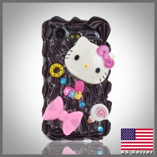 Chocolate & Vanilla bling case cover HTC Droid Incredible 2 2S 6350