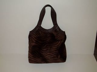 New Womens Hobo Purse Handbag f/ Leather Croc Print Animal Print