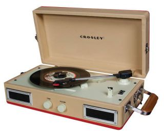 Crosley CR40 Mini Portable Record Player Turntable NEW