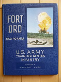 Fort Ord California, U.S. Army Training Center Infantry, Military