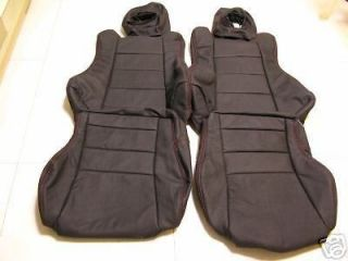 1988 1991 HONDA CRX GENUINE LEATHER SEATS COVER