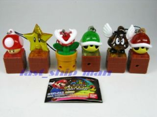 BD Nintendo Wii Super Mario Bros Light Mascot 2 SetA 6p
