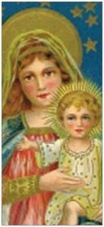 25 Christmas HOLIDAY Greeting CARDS MADONNA Child RELIGIOUS PRINTED US