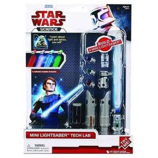 NEW Uncle Milton Star Wars Build a Lightsaber Tech Toy Anakin FREE
