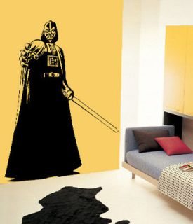 Vader Star wars Kid Boy Room Decor Wall Vinyl Decal