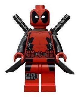 LEGO Marvel Super Heroes Mini Figures DEADPOOL Rare NEW 6866 HTF