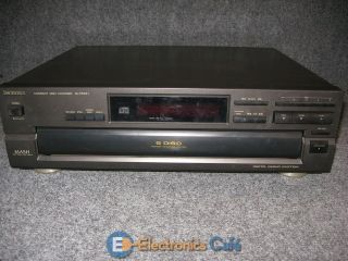 SL PD647 Home Theater Audio Compact Disc Player Stereo 5 CD Changer