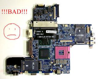 Dell Latitude D630 laptop Intel motherboard DT781 AS IS, shuts off