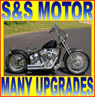 Custom Built Motorcycles  Bobber NEW BLACK 2012 AMERICAN CLASSIC