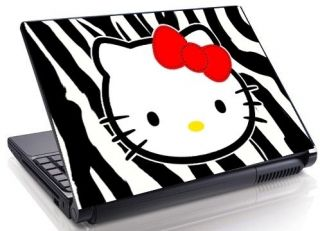 Face Zebra Laptop Skin decal 15.4 17 19 Mini Netbook Macbook 47