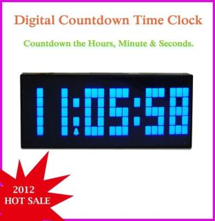 Casio Digital Wall Clock Full Auto Day Date Month