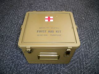 US Army First Aid Box Medical Storage Box NEW Genuine Military Surplus