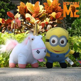 Despicable Me Plush Toy Dave & Unicorn 2PCS Collectible Game Stuffed