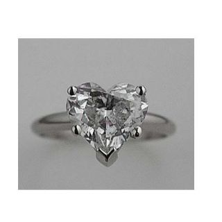 04 CARAT HEART SHAPE DIAMOND ENGAGEMENT RING WEDDING RING