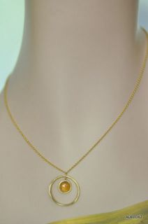 New $1630 MARCO BICEGO Jaipur 18K Gold Citrine Necklace