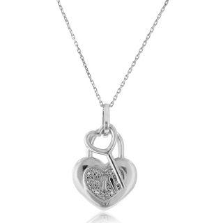 diamond heart pendant in Fine Jewelry