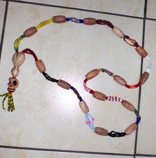 Collar Ogbe Yono (Ifa, Santeria, Orula, Shango, Yemaya, Obatala, Ochun