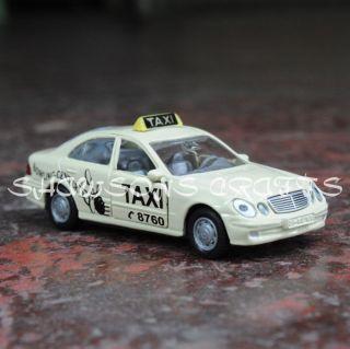 SIKU 1363 DIECAST METAL 1/64 MERCEDES BENZ E500 TAXI CAR MODEL REPLICA