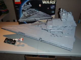 Lego Star Wars Imperial Star Destroyer 10030 Used Complete Boxed