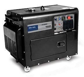 Commercial Diesel Powered Generator