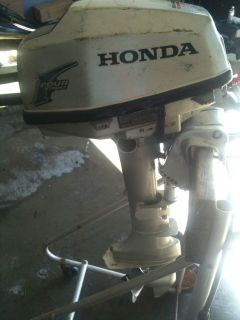 Yamaha 6 hp outboard boat motor prop two stroke 2 stroke for Honda 2 5 hp outboard motor