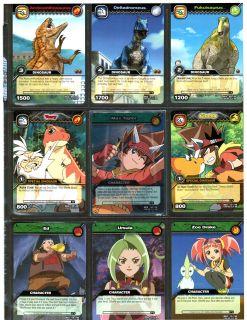 trading cards dinosaur king cards