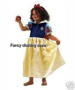 Disney Princess Snow White fancy dress up Party costume play 3 to 8