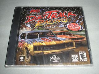 Dirt Track Racing   PC Computer CD Game   BRAND NEW in SEALED JEWEL