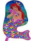 LOT of 10 Disney Ariel Little Mermaid FISH Happy Birthday Balloon Baby