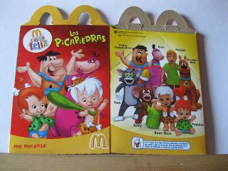MC DONALDS   HAPPY MEALS BOX   TOM & JERRY  SCOOBY DOO   FLINTSTONES