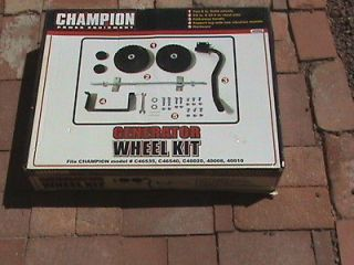 Champion Generator Wheel And Handle Kit # 40066 Make Your Unit Easy To