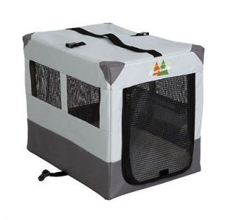 Sportable pet soft sided travel dog crate cage pen XL w/ pad bed