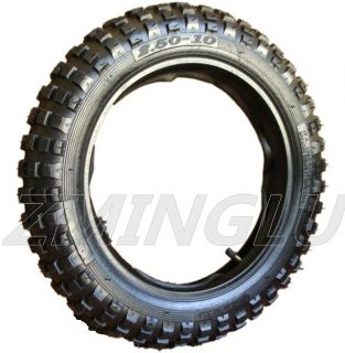 10 Tire W/ Inner Tube Razor Dirt Rocket MX500 MX650