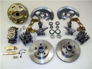 Chevy GM A or F Body Power Disc Brake Conversion Kit Original Look