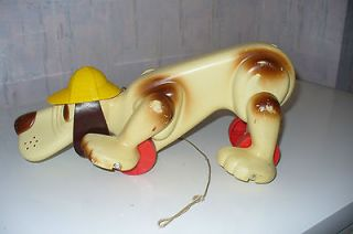 Newly listed Fisher Price Blood Hound Dog Pull toy