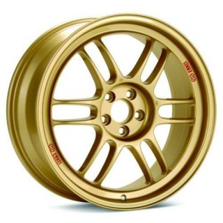 ENKEI RPF1 RIMS GOLD 18x8 5x100 +45    SET OF 4 WHEELS