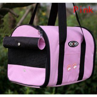 Color Pet Carrier Dog Cat Tote Travel Carry Bag Handbag