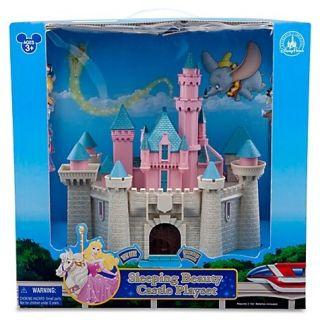 nib disney princess sleeping beauty castle play set 10 disney