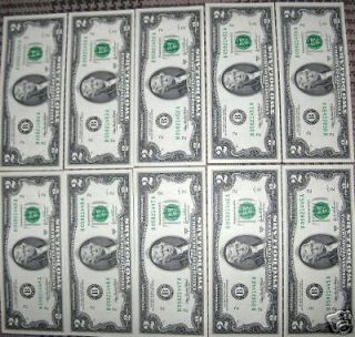 Dollar Bill Federal Reserve Note