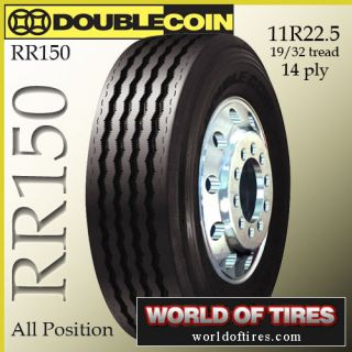 22.5 tires Double Coin RR150 11r22.5 tires semi truck tires 22.5 truck