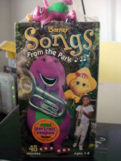 Barney & Friends   Songs From The Park (VHS, 2003) TOY