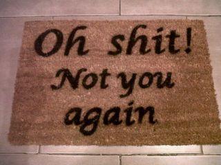 funny door mat in Door Mats & Floor Mats