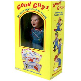 Childs Play Good Guy Doll http://www.popscreen.com/p/MTMyMzQ5MTIz/Rare-Childs-Play-2-Chucky-Good-Guys-Doll-Bank-9-NIB-Dream-Rush-Inc-