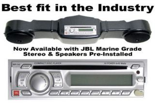 EZGO TXT Golf Cart Overhead Console w/ JBL Pre Installed Stereo