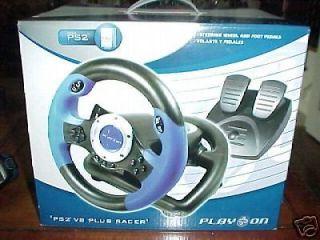playstation 2 steering wheel in Video Game Accessories